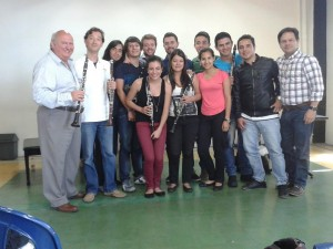 Colombian clarinettists
