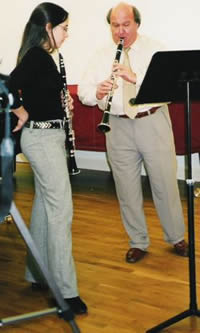 Whilst studying at the Royal College of Music Hannah Morgan won the Selmer Clarinet Prize there in 2006