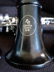THE first grenadilla wood clarinet we have offered and are very excited by the quality of intonationj beautiful tone and professional quality in general - please note this clarinet is only available to firm order and needs to be ordered in advance to avoid dissapointment.