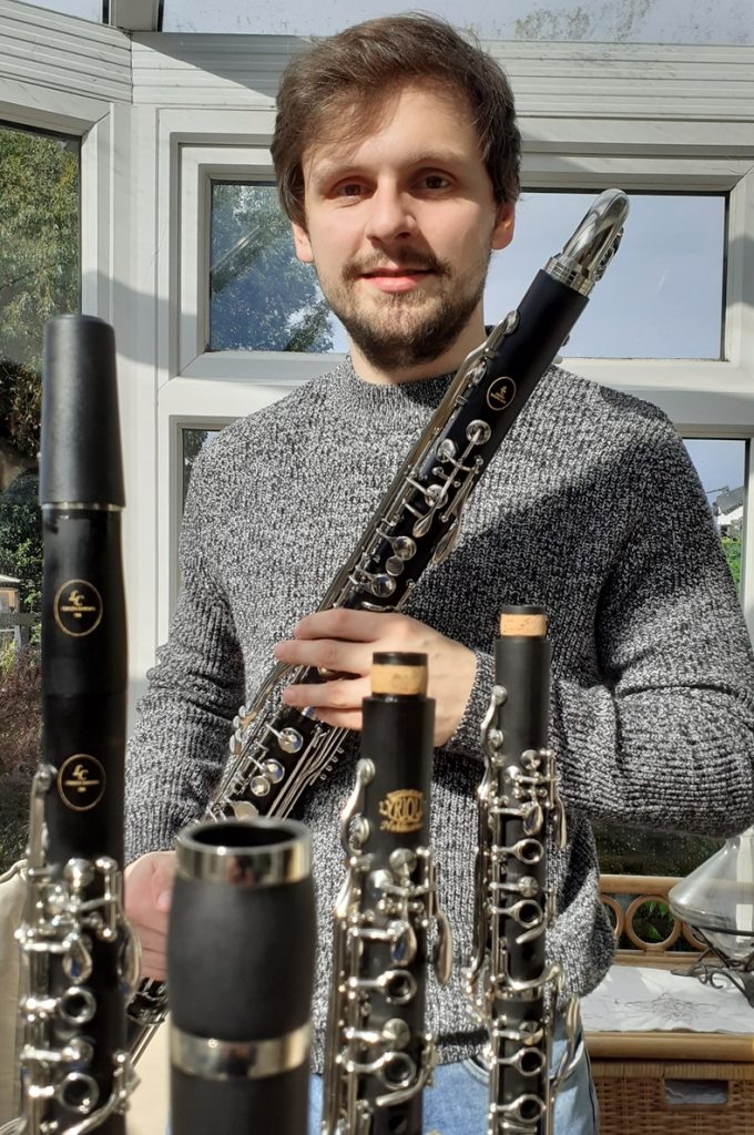 Ash Brand talented clarinettist and Saxophonist can now demonstrate the clarinets to London based / home counties customers. He will be available to visit to try the clarinets or can take them to a pre designated venue for customers to try.